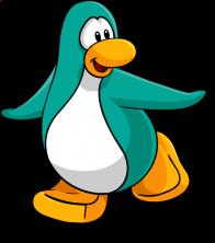 pingouins/bleu - 165