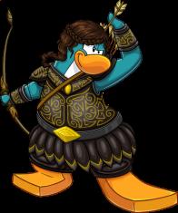 pingouins/bleu - 17