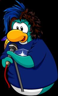 pingouins/bleu - 28