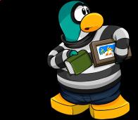 pingouins/bleu - 74