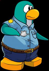 pingouins/bleu - 77