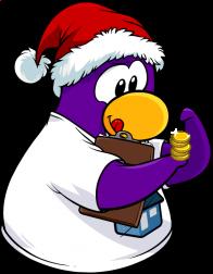 pingouins/mauve - 2