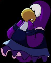 pingouins/mauve - 73