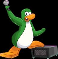 pingouins/vert - 1