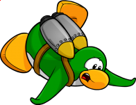 pingouins/vert - 107