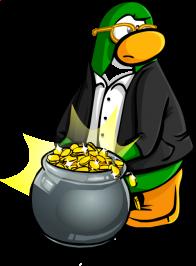 pingouins/vert - 110
