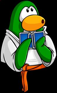 pingouins/vert - 117