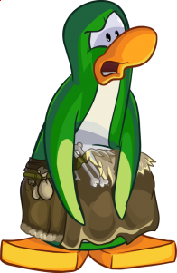 pingouins/vert - 135