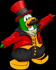pingouins/vert - 136