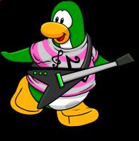 pingouins/vert - 140