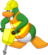 pingouins/vert - 148