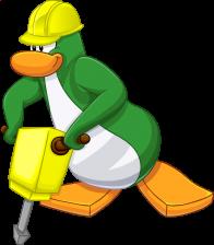 pingouins/vert - 151
