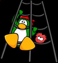 pingouins/vert - 155