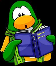 pingouins/vert - 174