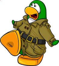pingouins/vert - 198