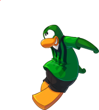 pingouins/vert - 201