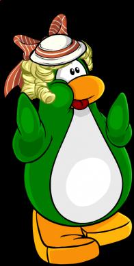 pingouins/vert - 214