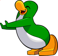 pingouins/vert - 235