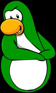 pingouins/vert - 246