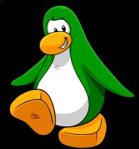 pingouins/vert - 247