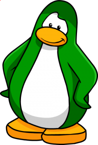 pingouins/vert - 259