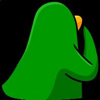 pingouins/vert - 261