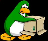 pingouins/vert - 262