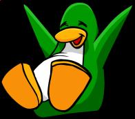pingouins/vert - 263