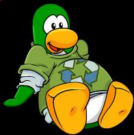 pingouins/vert - 44