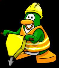 pingouins/vert - 65