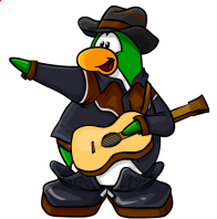 pingouins/vert - 75