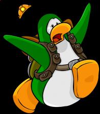 pingouins/vert - 90