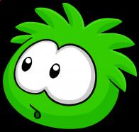 puffles/vert - 25