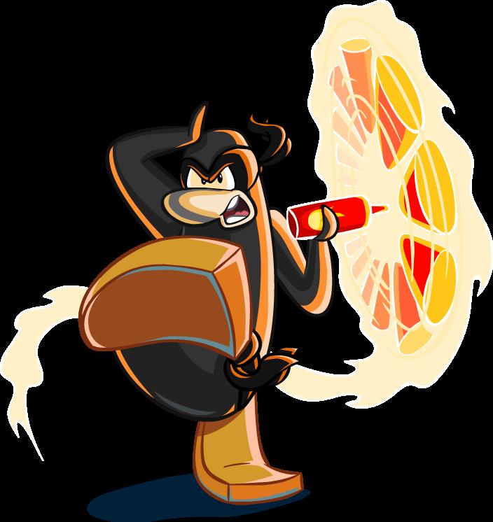 Ninja de feu
